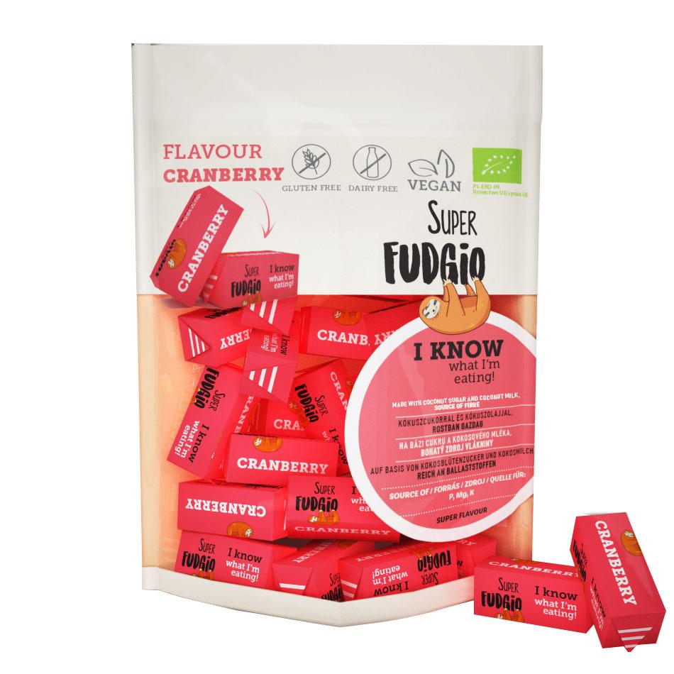Super Fudgio cranberry fudge 150 gr