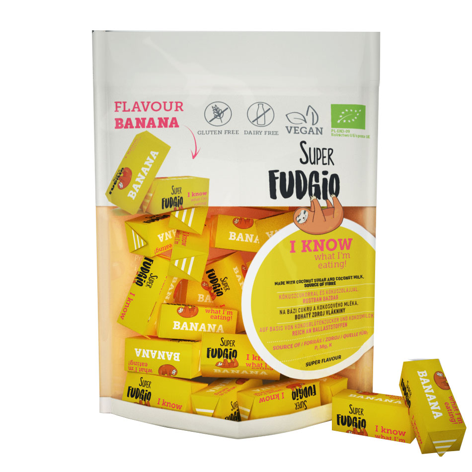 Super Fudgio banana fudge 150 gr