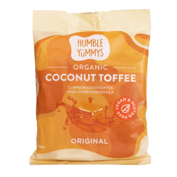 Humble Yummys coconut toffee 150 gr