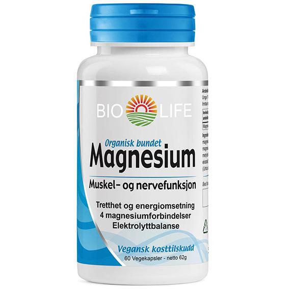 Bio Life magnesium 60 kap