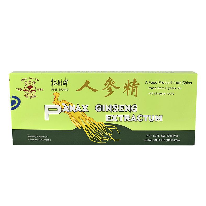Panax ginseng extractum 10 ampuller