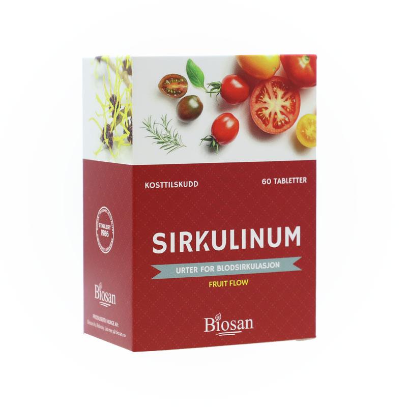 Biosan sirkulinum fruit flow 60 tab