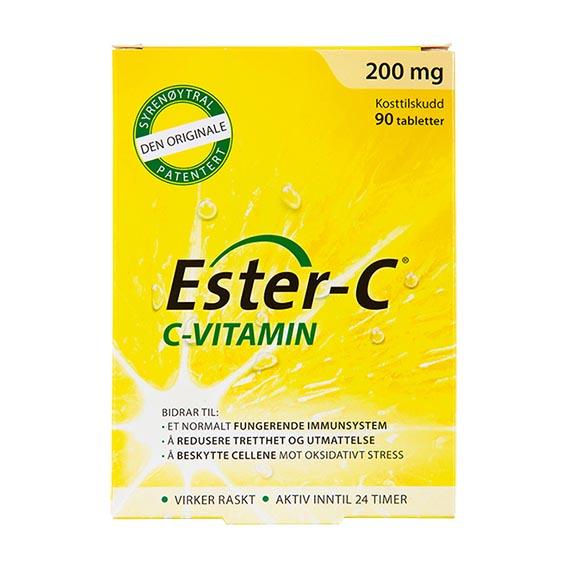 Ester-C vitamin c 200 mg 90 tab