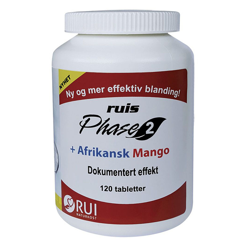 Ruis phase 2 afrikansk mango 120 tab