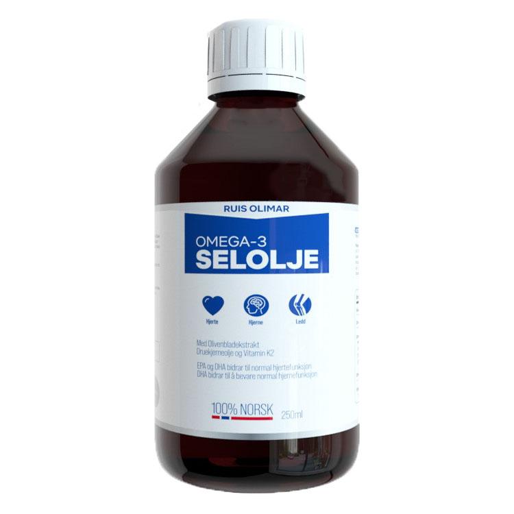 Ruis olimar omega-3 selolje 250 ml