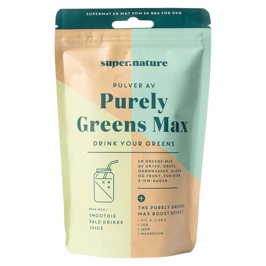 Supernature purely greens max 150 gr