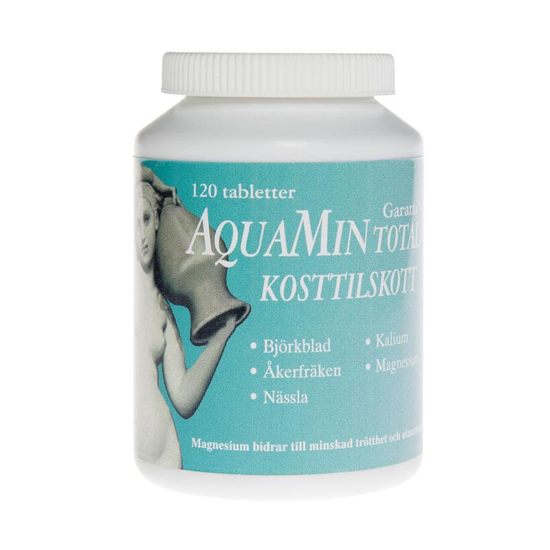 Aquamin total mineraltilskudd 120 tab