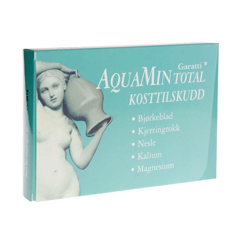 Aquamin total mineraltilskudd 60 tab