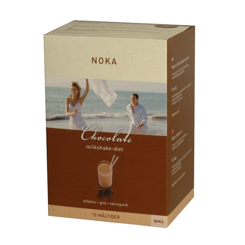 Noka chocolate milkshake-diet 15 poser