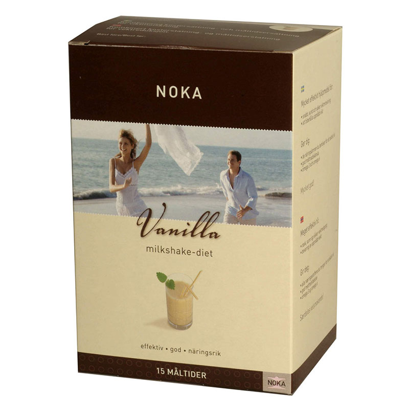 Noka vanilla milkshake-diet 15 poser