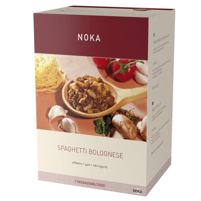 Noka spagetti bolognese 7 måltider