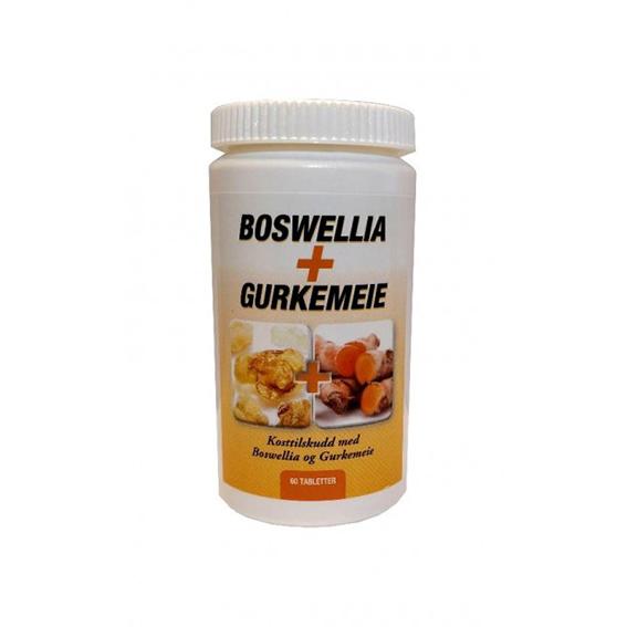 Boswellia + gurkemeie 60 tab