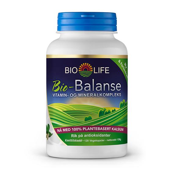 Bio Life bio-balanse multivitamin u/jern 300 kap