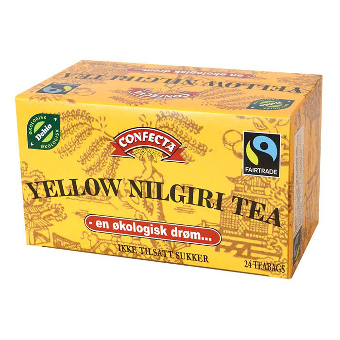 Confecta yellow niligiri tea 24 poser øko