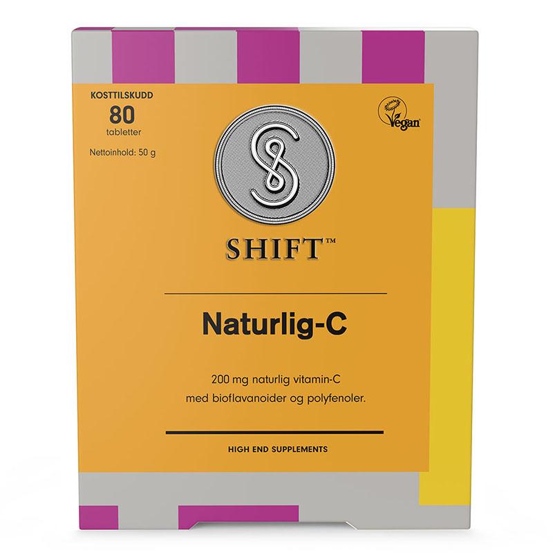 Shift Naturlig-C 80 tab