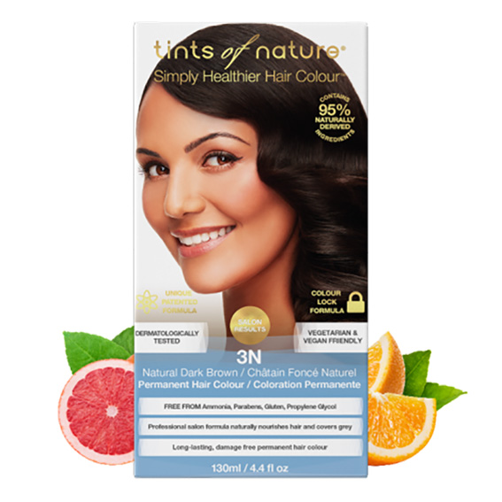 Tints of Nature 3n natural dark brown 130 ml