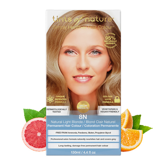 Tints of Nature 8n natural light blond 130 ml