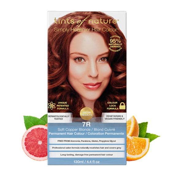 Tints of Nature 7r soft copper blonde 130 ml