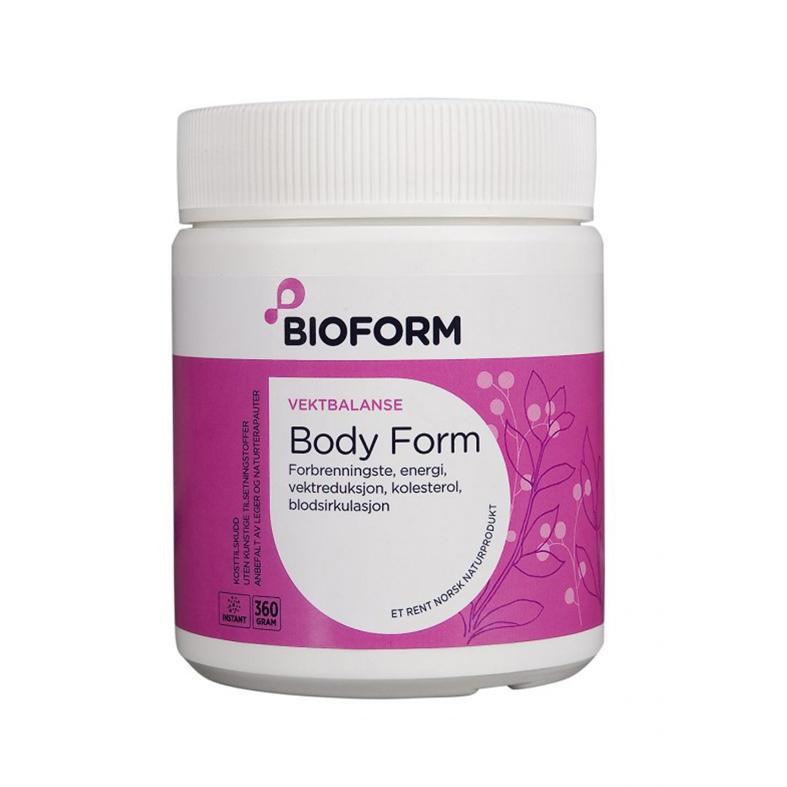 Bioform body form m/ frukt smak 360 gr