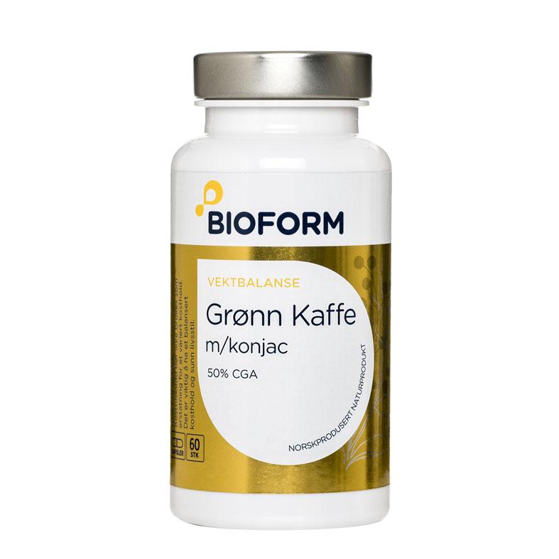 Bioform grønn kaffe ekstrakt 60 kap
