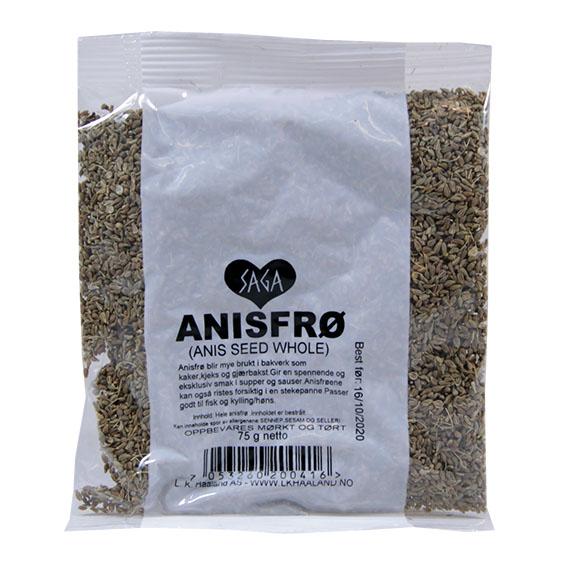 Saga anisfrø hel 40 gr