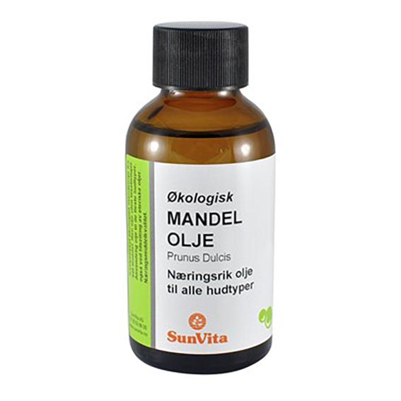 Sunvita mandelolje 100 ml øko