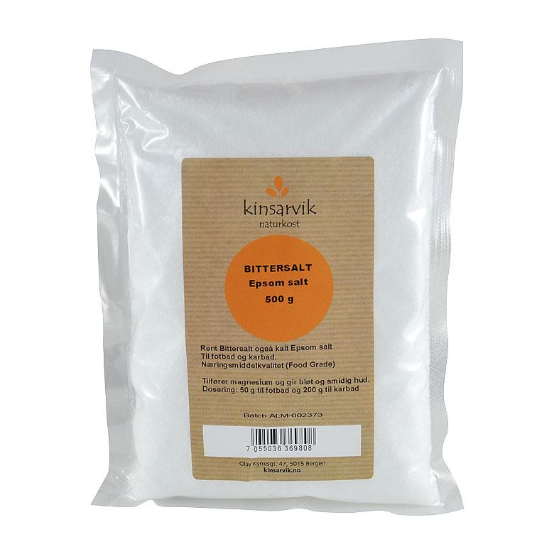 Kinsarvik epsom salt 500 gr