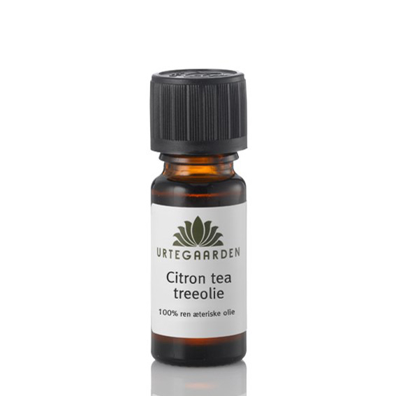 Urtegården citron tea tree olje 5 ml eterisk