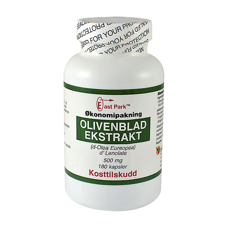East Park Olivenbladekstrakt 500 mg 180 kap