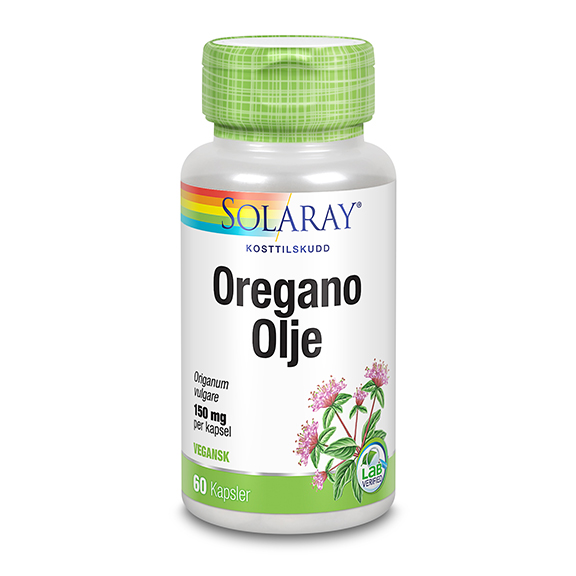 Solaray oregano olje 60 kap