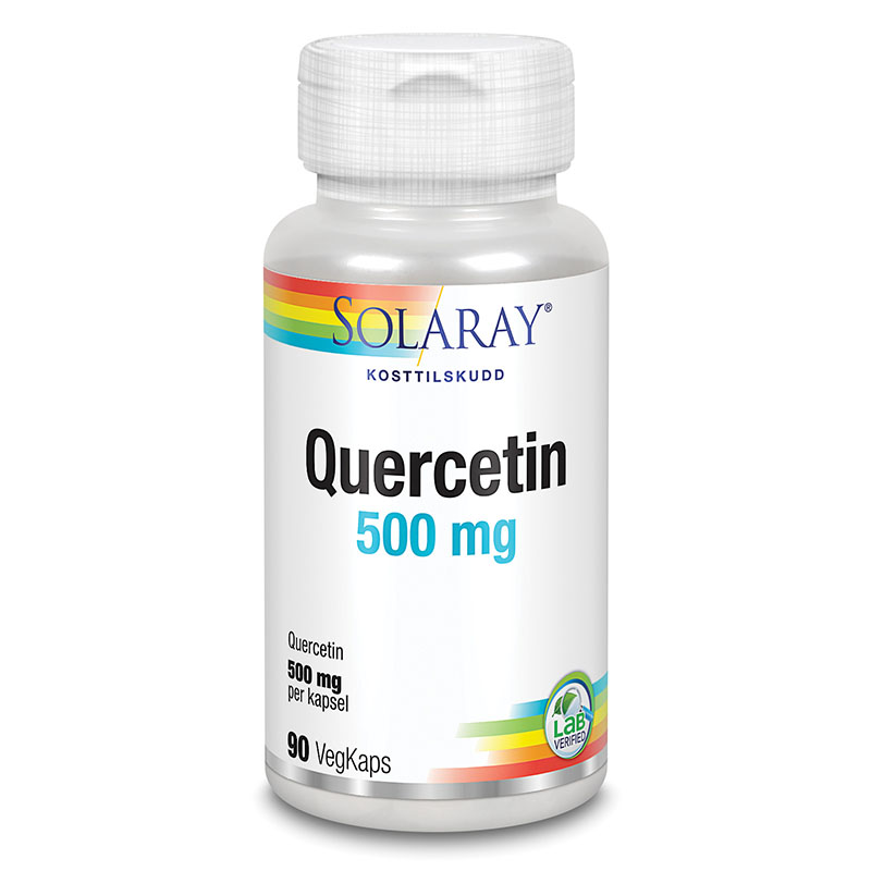 Solaray quercetin 500 mg 90 kap