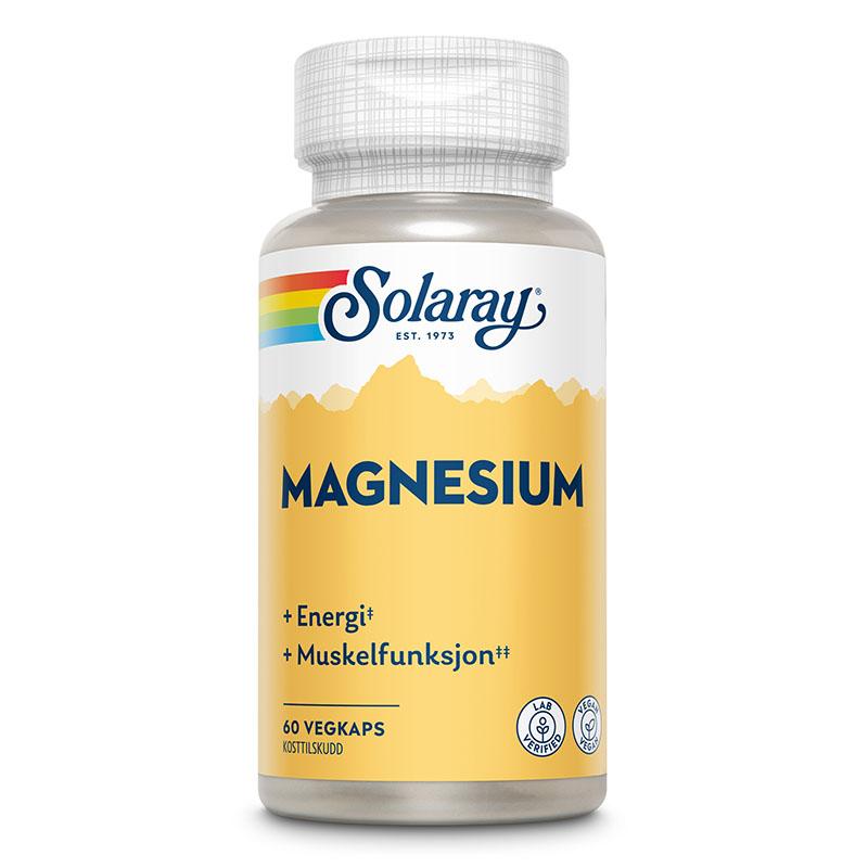 Solaray magnesium 60 kap