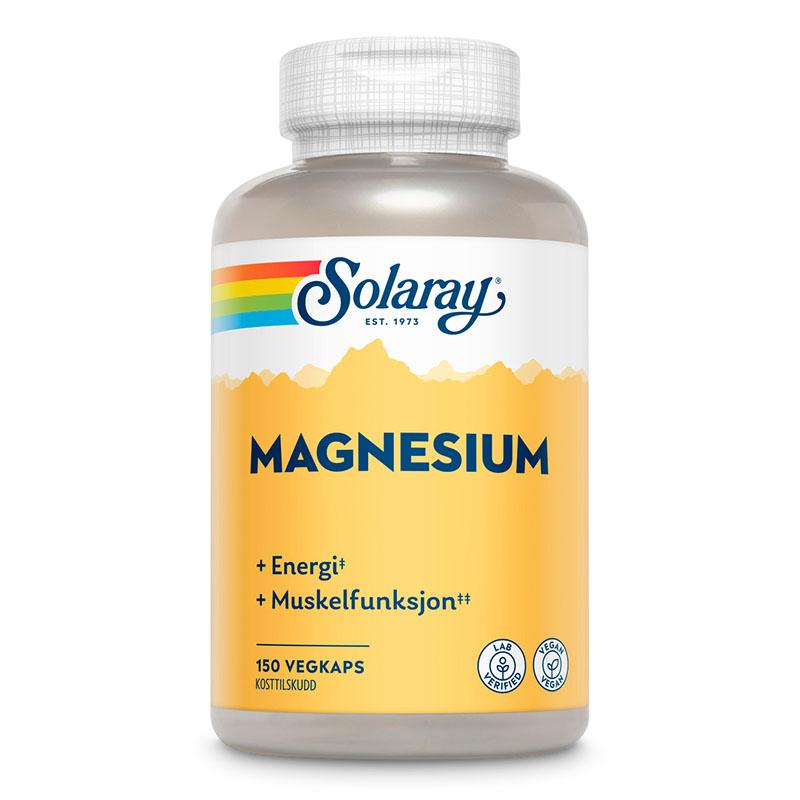 Solaray magnesium 150 kap