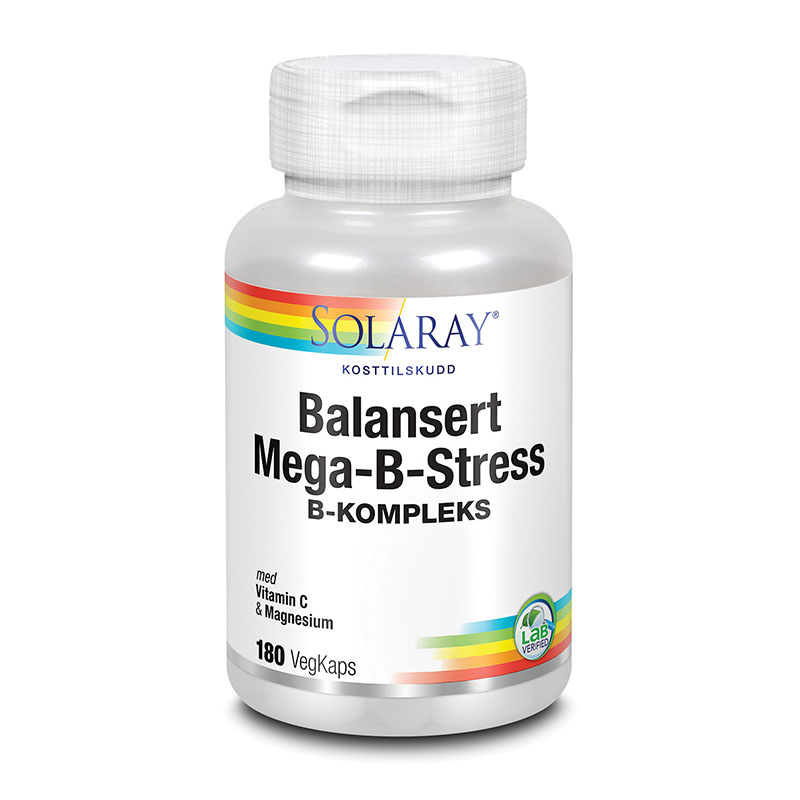 Solaray mega b stress 180 kap