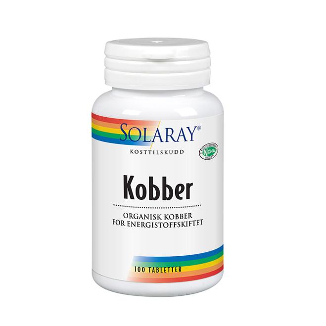 Solaray kobber 100 tab