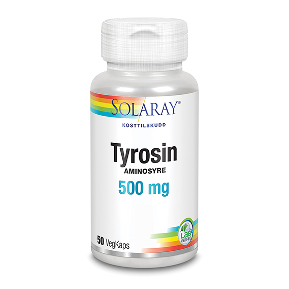 Solaray tyrosin 500 mg 50 kap