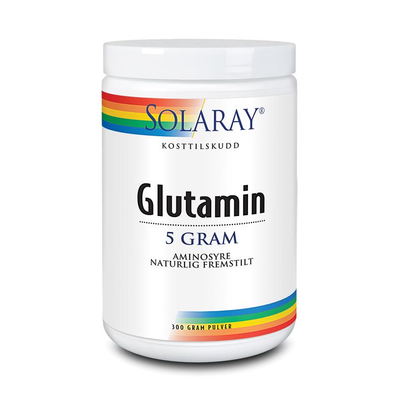 Solaray glutamin 300 gr
