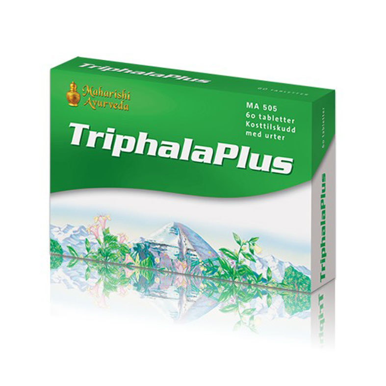Maharishi Ayurveda triphala plus 60 tab