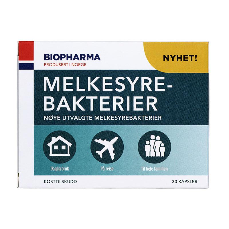 Biopharma melkesyrebakterier 30 kap