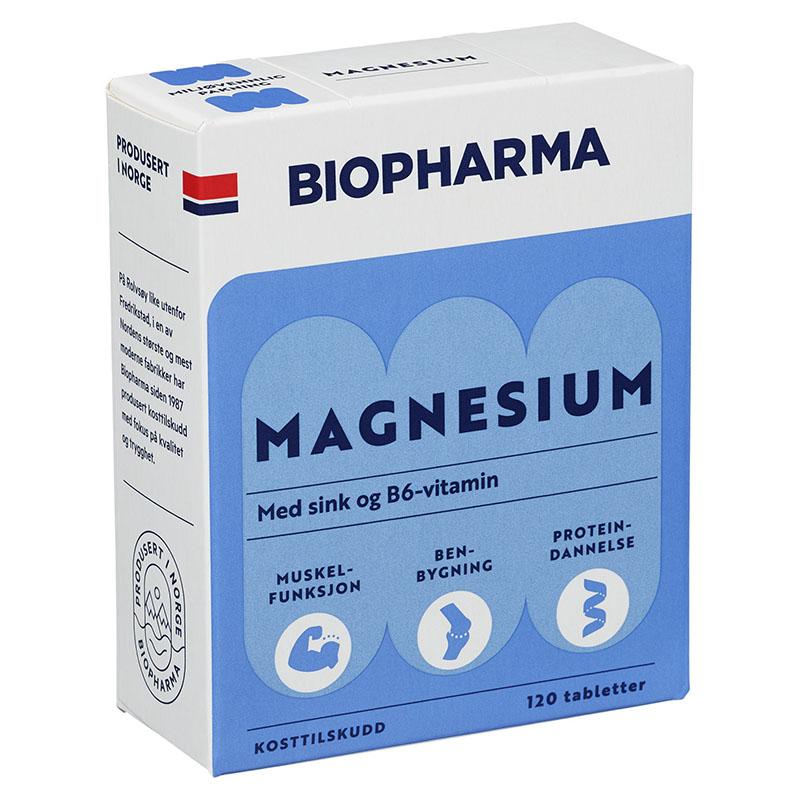 Biopharma magnesium 120 tab