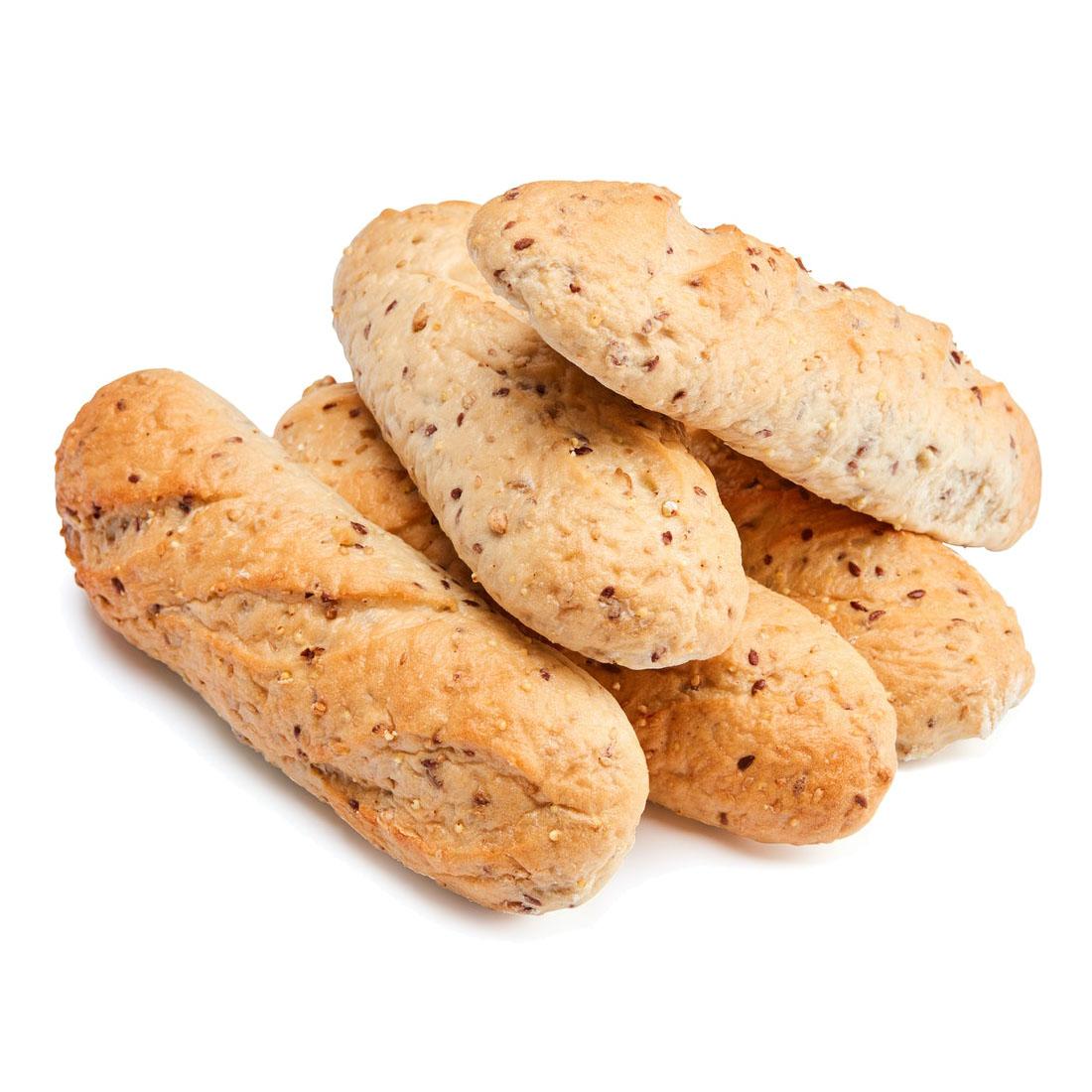 Den Gode Baker baguetter grove 5 stk 750 gr øko