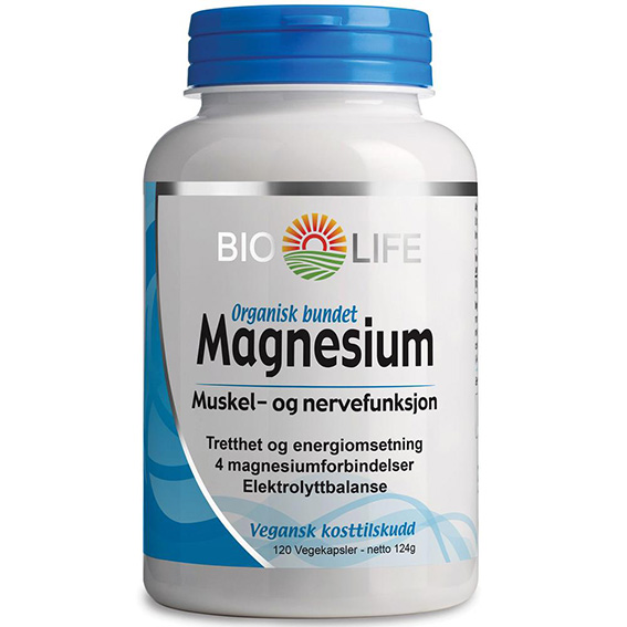 Bio Life magnesium 120 kap