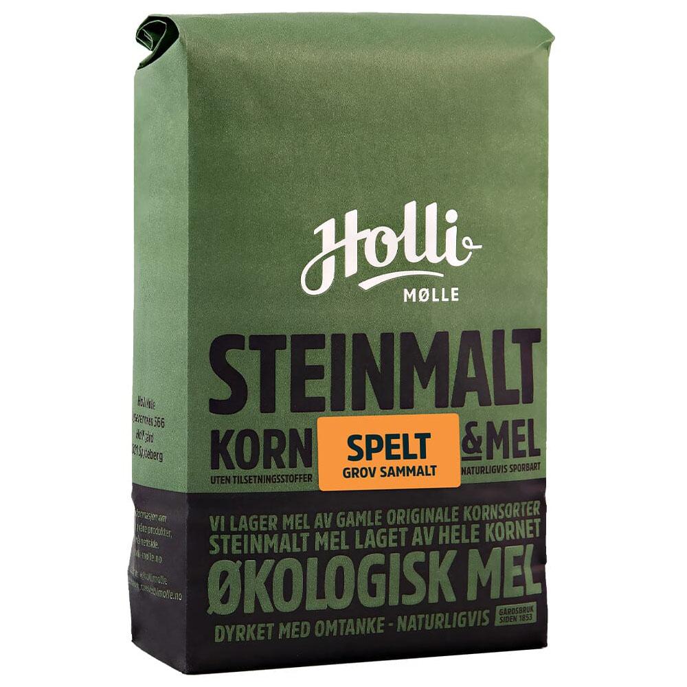 Holli Mølle grov sammalt spelt 1 kg