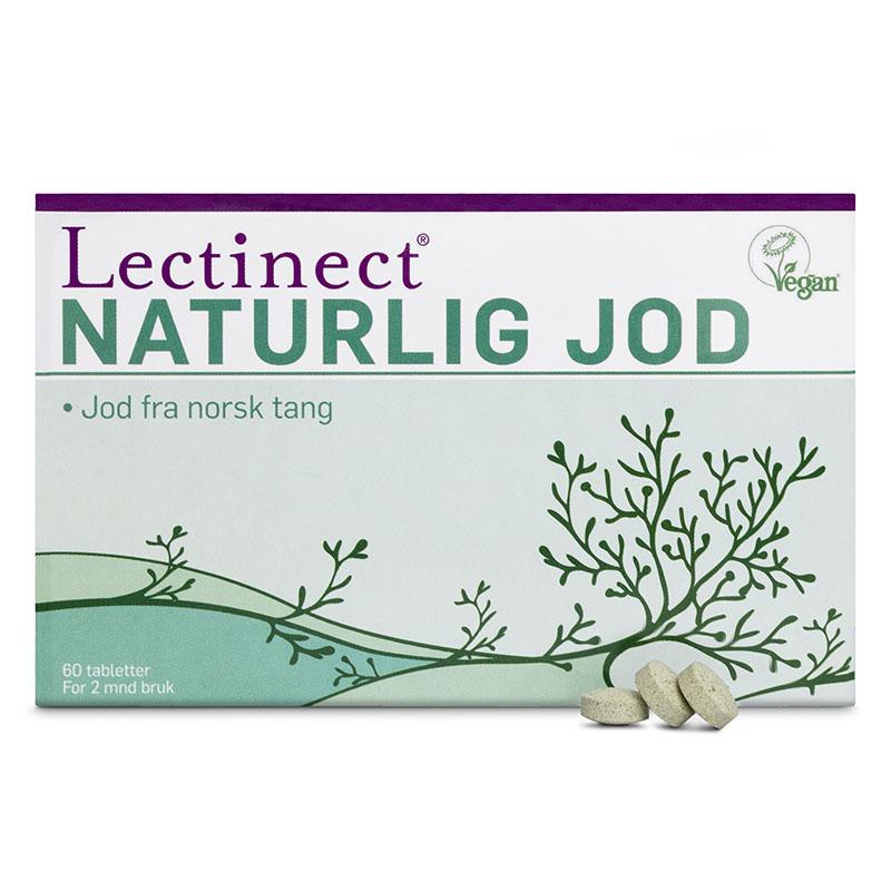 Lectinect naturlig jod 60 tab