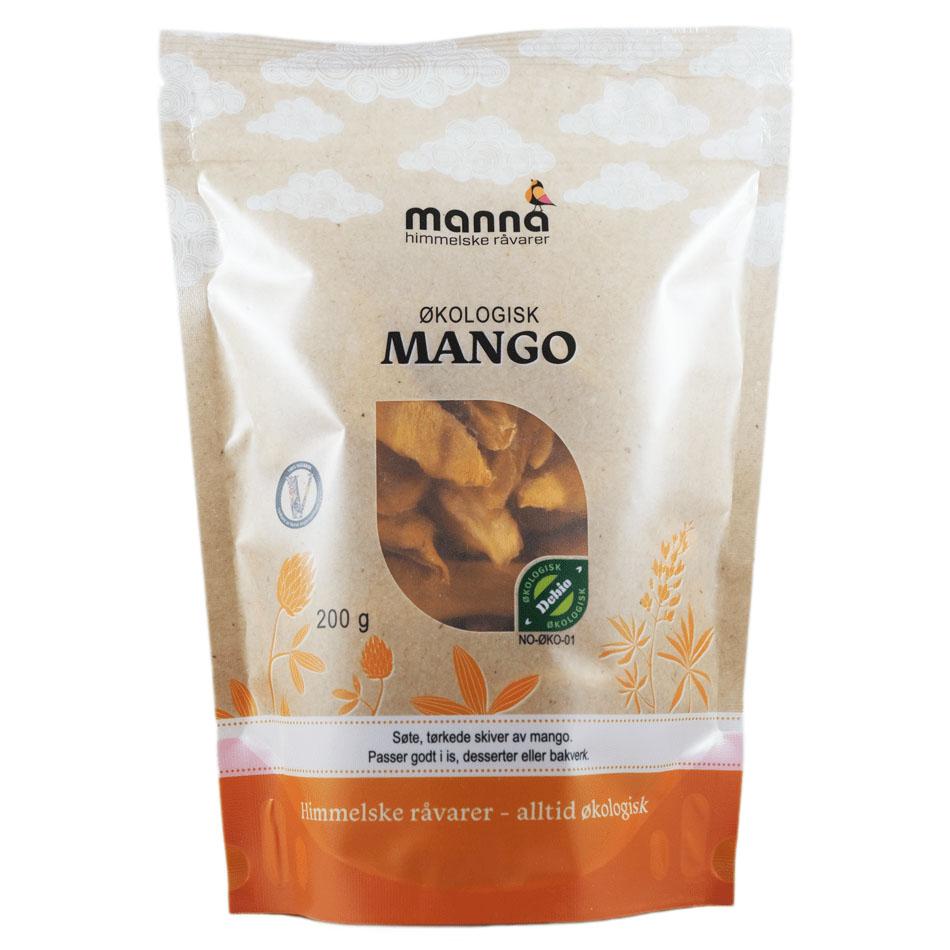 Manna mango 200 gr øko