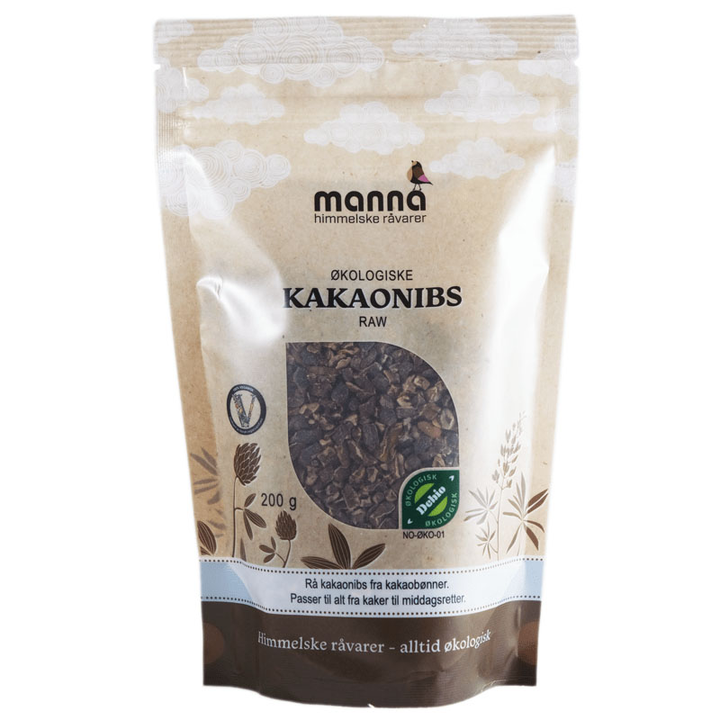 Manna kakaonibs 200 gr øko