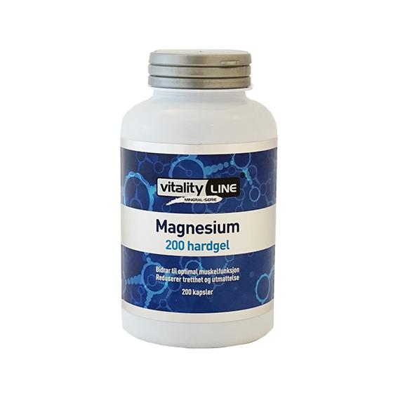 Vitality Line magnesium 200 hardgel kap