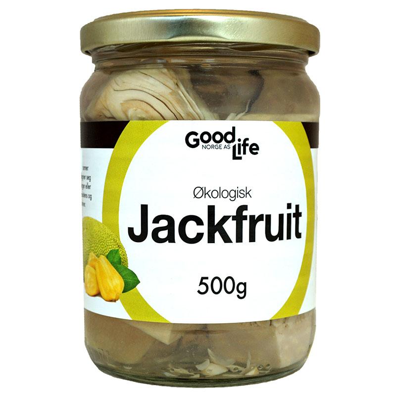 Goodlife jackfruit chunks 500 gr