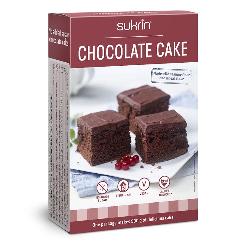 Funksjonell sjokoladekake 412 gr