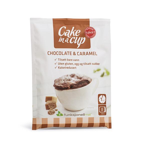 Funksjonell cake in a cup caramel 65 gr